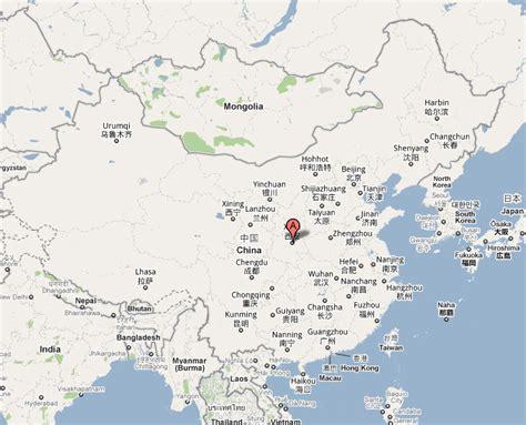 xian maps maps  xian xian city map xian china