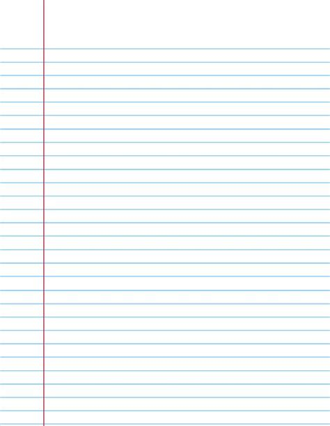printable lined paper year 1 ruled paper in need and paper on pinterest