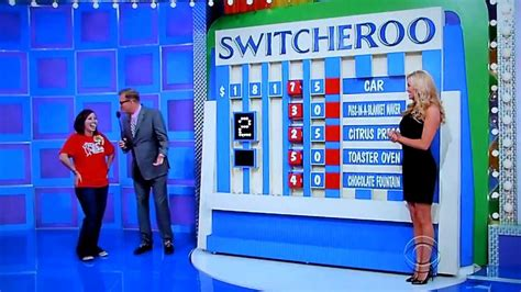 The Price the price is right switcheroo 1 27 2014
