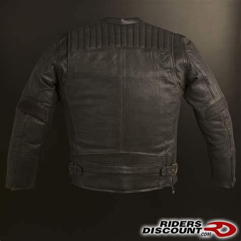 Vest Rompi Zipper Wings speed and strength rust redemption leather jacket honda goldwing forums