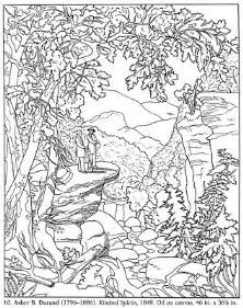 Galerry coloring nature helen ward