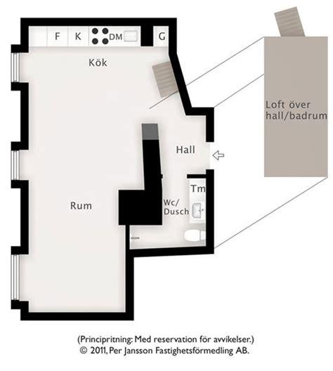 57 square meter condo 57 square meter duplex with slanting white walls in