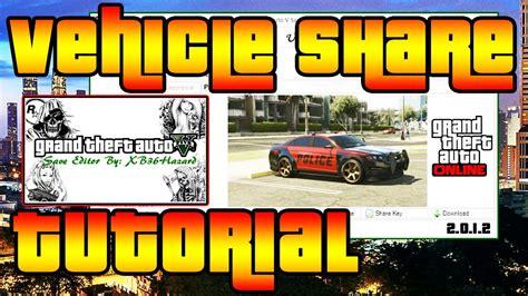 tutorial online gta v xb36hazard vehicle share tutorial gta 5 online youtube