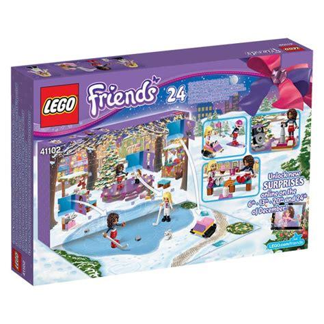 Calendrier De L Avent Lego 41102 Calendrier De L Avent Lego Friends Lego King Jouet