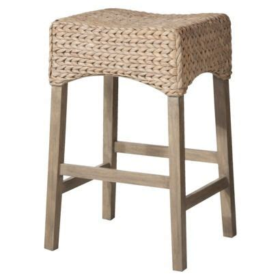 Seagrass Bar Stools Andres 29 Quot Seagrass Bar Saddle Stool Grey Wash