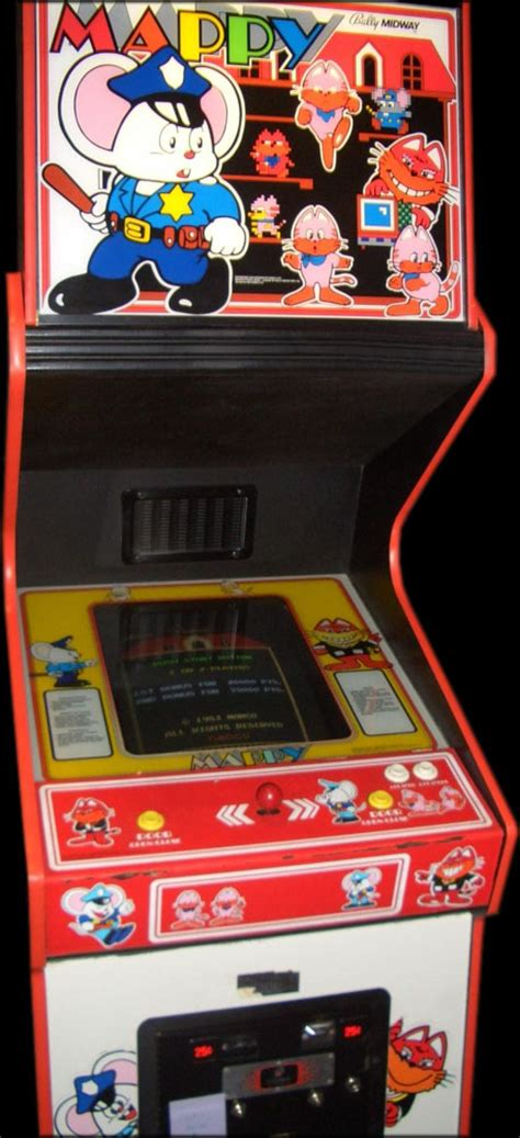 Mappy Arcade Cabinet by 301 Moved Permanently