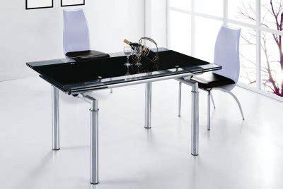 Glass Top Metal Base Modern Dining Table W Frosted Glass Dt103lb Dc040 Dining Table W Extendable Glass Top Metal Base