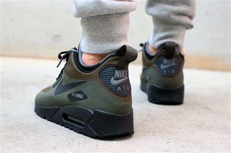 Nike Airmax90 Boots Army nike air max 90 sneakerboot green