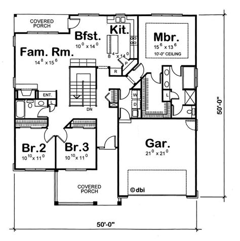 House Plan 120 1350 3 Bedroom 1724 Sq Ft Ranch 1350 Sq Ft House Plan
