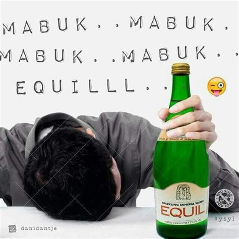 ahok equil when green bottle is associated with alcoholic drinks