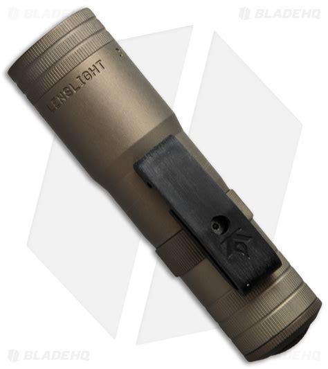 lenslight flashlight lenslight mini dual output flashlight smooth bezel
