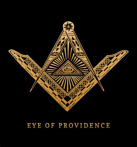 illuminati masonic symbols all seeing eye of providence masonic square and compass