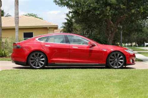 tesla model s 2013, the auction i for a ued p85 loaded