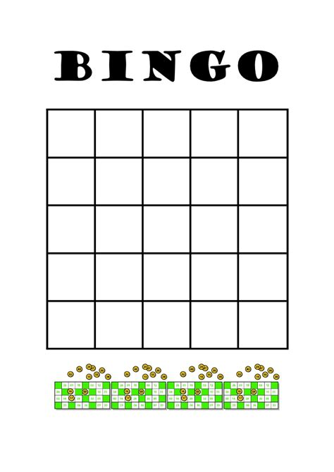 Bingo Plantilla Bingo Powerpoint Template