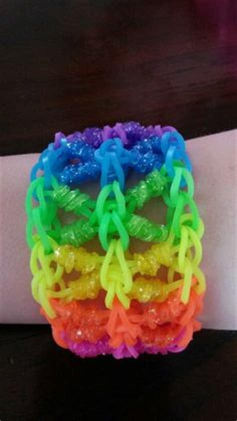 Loom Bands Kit Glitter Kotak Frozen 2 frozen ibspired rainbow loom bracelet loomed by