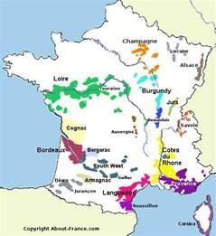 France Wine Map by Rhone Jillianbeard