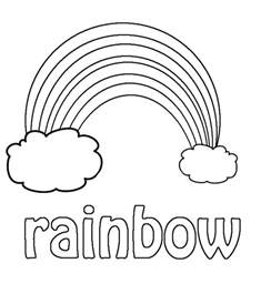 rainbow coloring page printable rainbow coloring pages coloring me