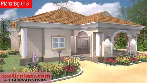 house designs floor plans nigeria free 4 bedroom bungalow house plans in nigeria youtube