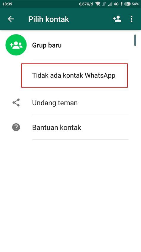 android kontak  whatsapp tidak muncul miui andro id