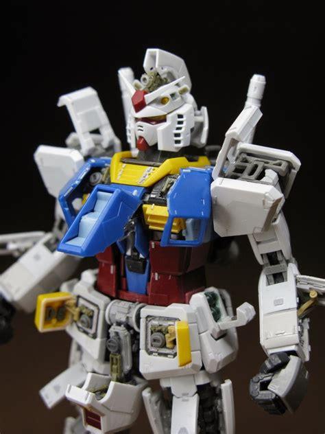 1144 Rg Rx 78 2 Gundam Dan Rg Gnt 0000 00 Qant By Bandai custom build rg 1 144 rx 78 2 gundam open hatch