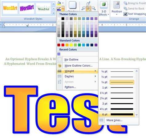 Microsoft Word 2007 Outline by How To Outline Letters On Microsoft Word 2007 Cover Letter Templates