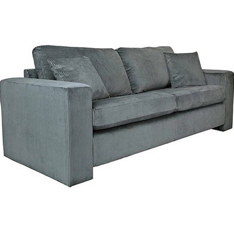 Angelo Sofa by Angelo Home Angelo Sofa In Antique Gray Soft Cord Velvet