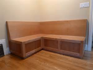Custom Banquette Bench by Custom Cherry Banquette By Near West Custommade