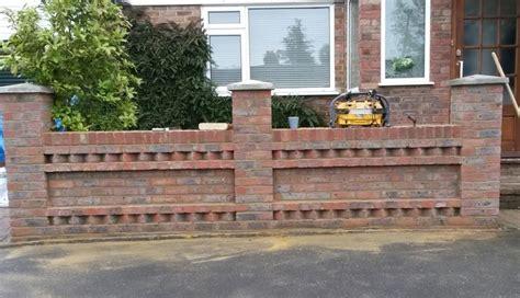 Garden Brick Wall Ideas Brick Wall Designs For Front Gardens Fanciful Stunning Garden Home Design Ideas 0 Intersiec