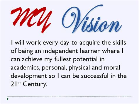 Mission Statement Examples For Resume my personal vision statement pictures to pin on pinterest