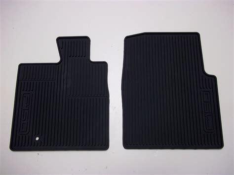 2005 2006 2007 2008 ford f150 all weather floor mats 2 piece set black ebay