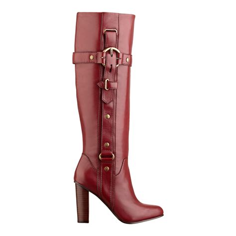 nine west olly boot in leather lyst