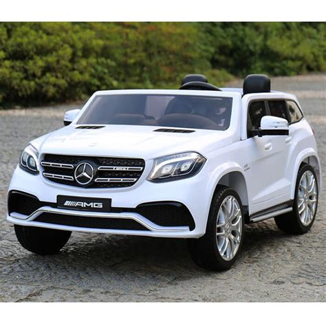 electric and cars manual 2010 mercedes benz s class interior lighting licensed mercedes benz gls63 gls electric ride on car 12v battery 2 4g remote white