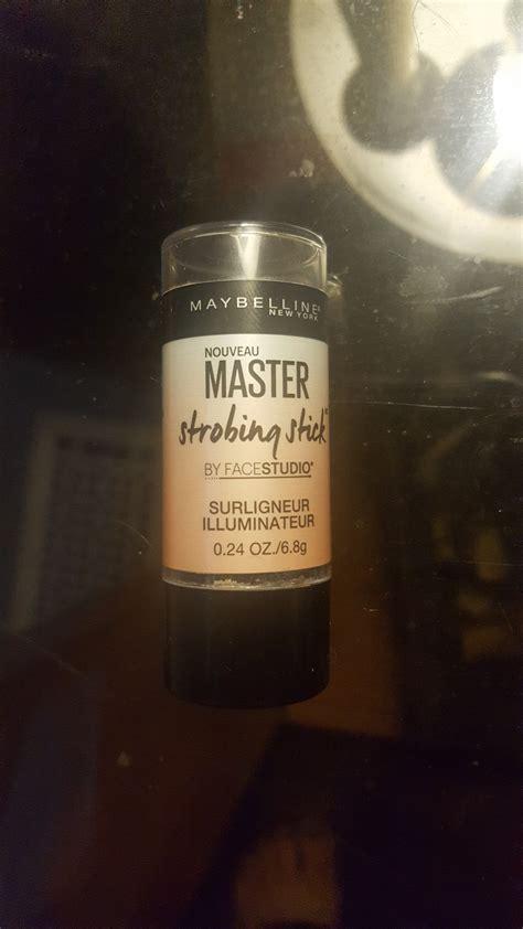 Maybelline Facestudio Master Strobing Stick 1 maybelline new york facestudio 174 master strobing stick illuminating highlighter reviews in