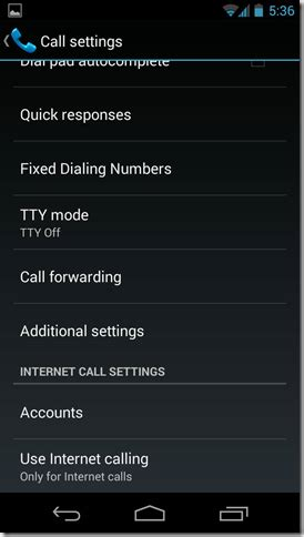 how to activate call waiting on android phones