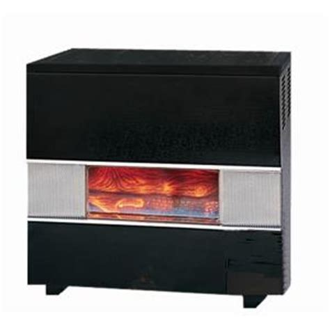 williams 50 000 btu gas hearth heater with wall or