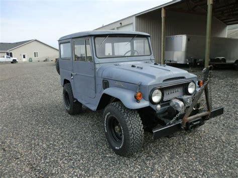 1966 Toyota Land Cruiser Fj40 Find Used 1966 Toyota Land Cruiser Fj40 Rust Free Warn