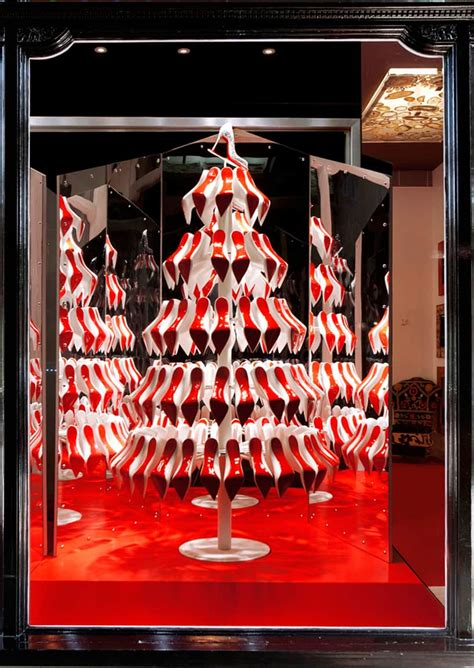 icemagazine christian louboutin christmas trees by studio xag