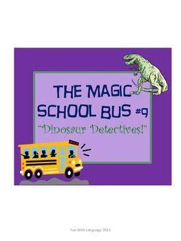 the magic school 9 dinosaur detectives worksheets for