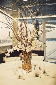 branches for centerpieces ideas centerpieces branches and flowers and candles hang table weddingbee