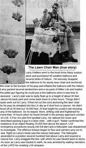 weather balloon lawn chair lawnchair larry the who soared to 16 000