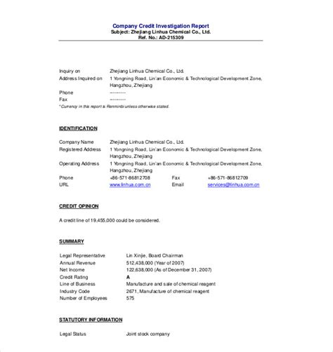 sle investigation report template investigation report template 28 images sle