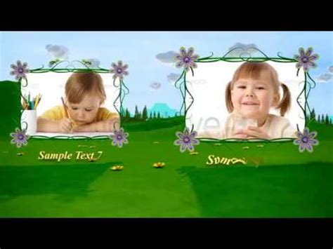 templates after effects baby template edit 225 vel after effects videohive baby photo