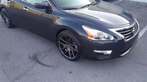 grey nissan altima black rims 877 544 8473 18 inch niche targa gunmetal wheels