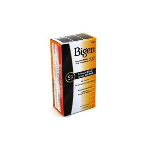 bigen 174 permanent powder hair bigen permanent powder hair color black 59 0 21 oz