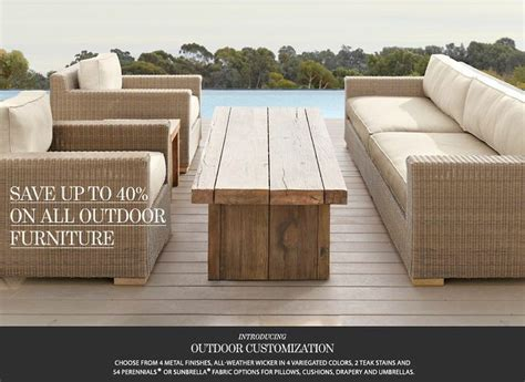 restoration outdoor furniture 1000 ideas about restoration hardware outdoor furniture