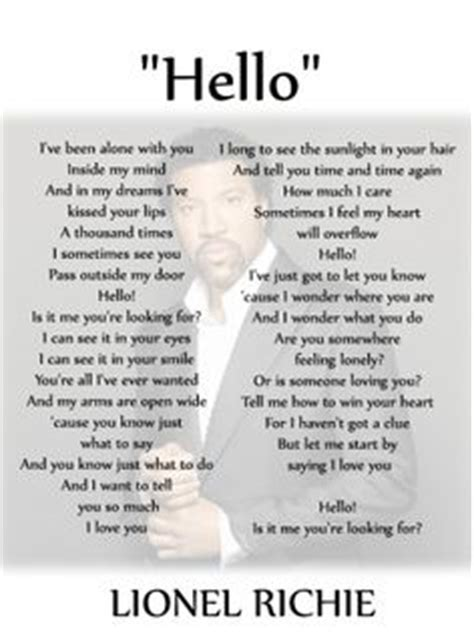 printable lyrics hello adele 1000 images about free printable music on pinterest