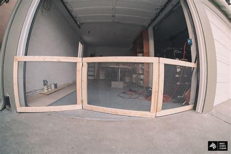 Garage Door Gate My Cave Part 1 Diy Fence For Garage Doors Imaginary Zebra Iz Garage