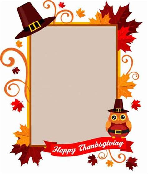 Thanksgiving Printables 31 Free Sets Of Fall Themed Designs Free Printable Thanksgiving Flyer Templates