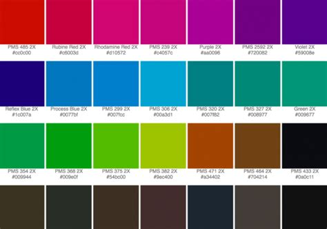 pantone color code rgb andrew kelsall design graphic design