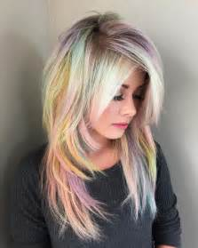 pastel hair colors warm pastel hair color ideas best hair color trends 2017